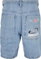 Southpole Denim Shorts Mid Blue
