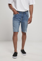 Urban Classics Shorts Relaxed Fit Jeans Shorts Light Destroyed Washed Blue
