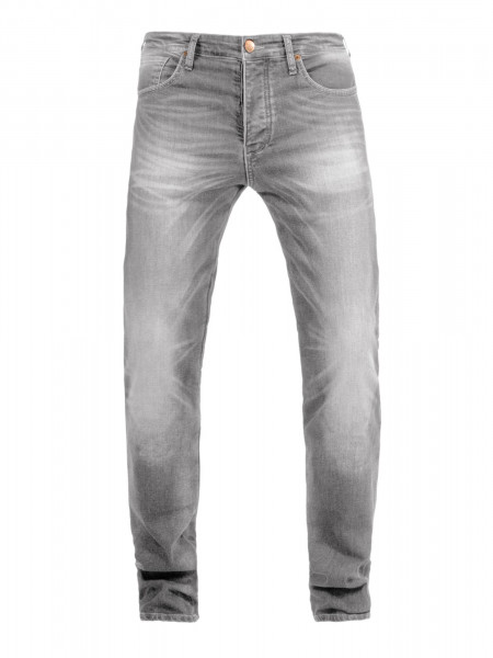 John Doe Motorrad Hose Pants Ironhead used Light Grey