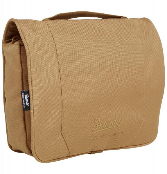 Brandit Tasche Toiletry Bag, large in Camel