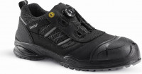 Sanita Herren Sicherheitsschuh Thulit-Esd-S3 S-Lock Shoe Black-Grey