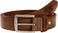 John Doe Gürtel Leather Belt Tiger Dark Cognac