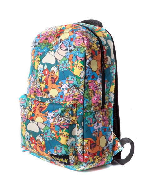 Pokémon Backpack Characters All Over Printed Multicolor