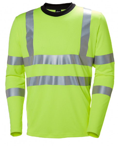 Helly Hansen T-Shirt 79093 Addvis Longsleeve 360 Yellow