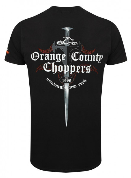 OCC Orange County Choppers T-Shirt Shop Dagger Black