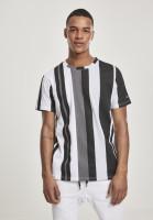 Southpole T-Shirt Vertical Block AOP T-Shirt Black
