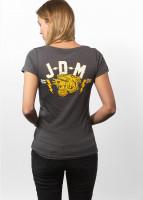 John Doe T-Shirt Women Tiger Grey
