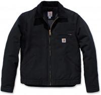Carhartt Herren Jacke Duck Detroit Jacket Black