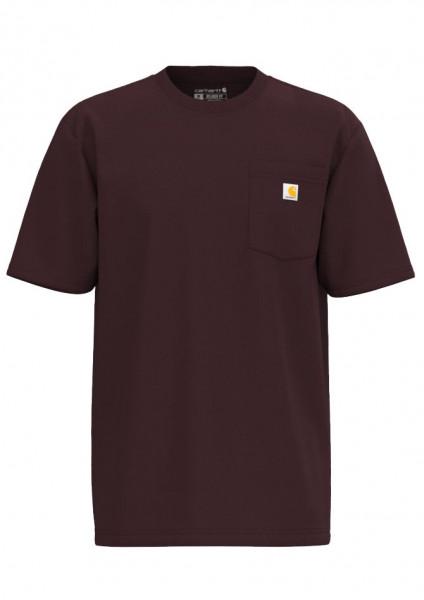 Carhartt T-Shirt K87 Pocket Port