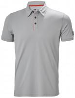 Helly Hansen T-Shirt Kensington Tech Polo Mid Grey