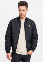 Urban Classics Leichte Jacke Diamond Quilt Nylon Jacket Black