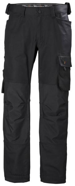 Helly Hansen Shorts / Hose 77462 Oxford Work Pant 990 Black