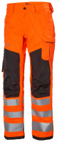 Helly Hansen Arbeitshose Alna 2.0 Work Pant Class 2 Orange/Ebony