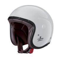 Caberg Motorrad Helm Jethelm Freeride White