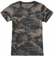 Brandit Damen Ladies T-Shirt Darkcamo