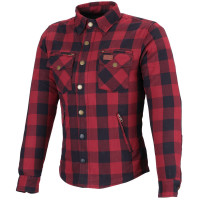 Büse M11 Karo-Cotton Textilhemd Damen Rot