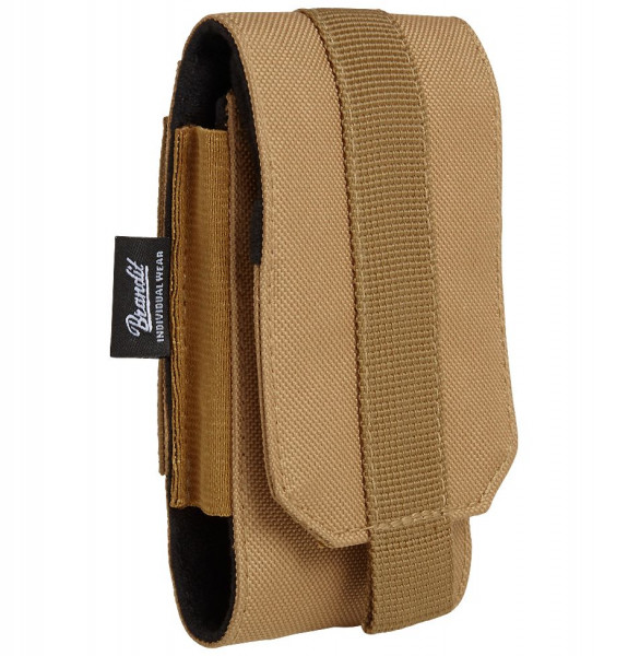 Brandit Tasche Molle Phone Pouch, medium in Camel
