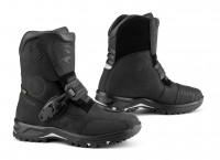 Falco Motorrad Schuhe / Stiefel Marshall Wasserdicht Black
