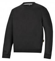 Snickers Klassisches Sweatshirt Baumwolle Schwarz