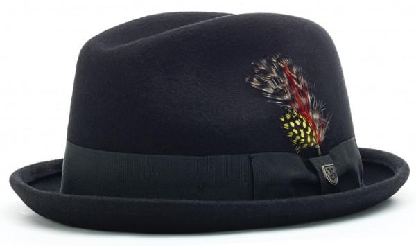 Brixton Hat Gain Fedora Black