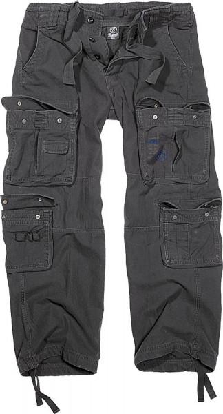 Brandit Hose Pure Vintage Trouser in Black