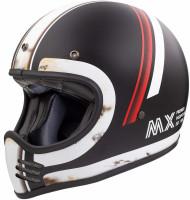 Premier Retro Crosshelm Trophy MX DO92 O.S. BM Black/White Matt