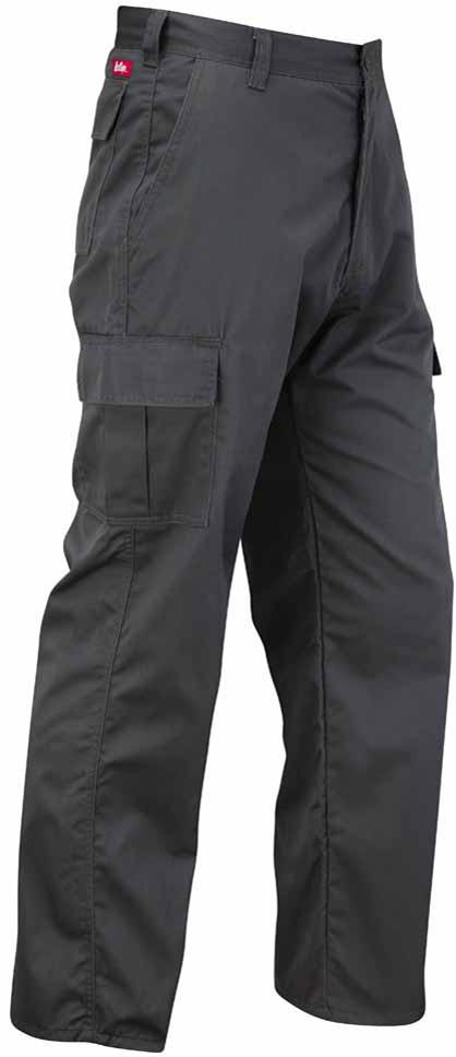 Lee Cooper Hose LCPNT205 Men/'s Workwear Cargo Trouser Black