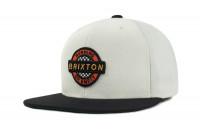 Brixton Cap Speedway Snapback White