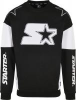 Starter Black Label Hoodie / Sweatshirt Racing Crewneck Black/White