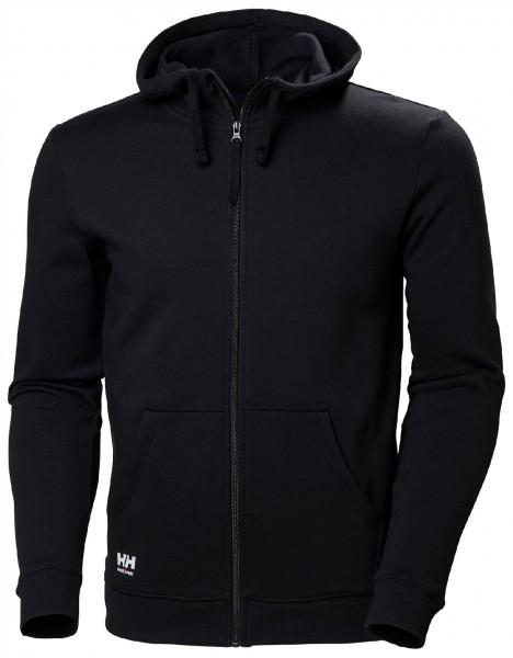Helly Hansen Hoodie / Sweatshirt 79216 Manchester Zip Hoodie 990 Black
