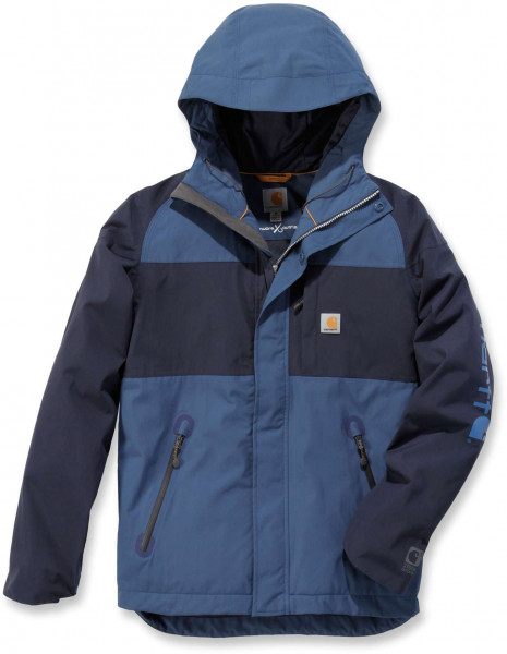 Carhartt Herren Jacke Angler Jacket Weathered Blue