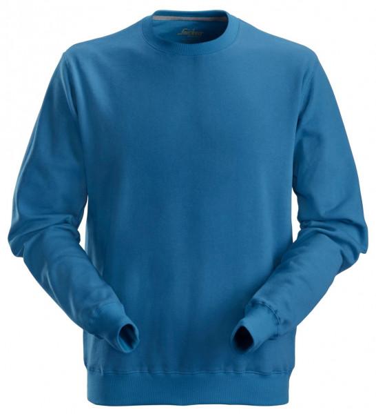 Snickers Klassisches Baumwoll T-Shirt Ozeanblau