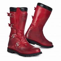 Stylmartin Motorrad Schuhe Continental Stiefel Red
