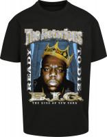 Mister Tee T-Shirt Biggie Crown Oversize Tee Black