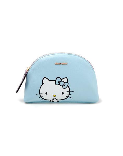 Sanrio - Hello Kitty Ladies Make Up Bag Blue