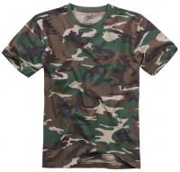 Brandit T-Shirt in Woodland
