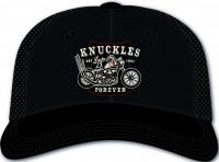 Lucky 13 Cap Knuckles Forever Dismantlers Snapback Trucker Hat Black