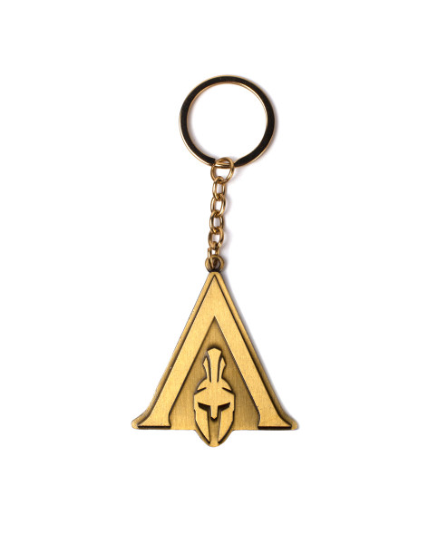 Assassin's Creed Keychains Assassin's Creed Odyssey - Odyssey Logo Metal Keychain Copper