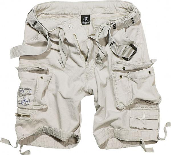 Brandit Shorts Savage Vintage in Old White
