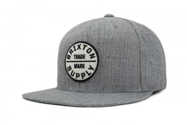 Brixton Cap Oath III Snapback Grey