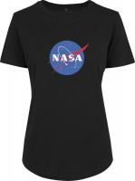 Mister Tee Damen T-Shirt Ladies NASA Insignia Fit Tee Black