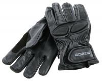 Bores Motorradhandschuhe Driver Leder Handschuhe Black
