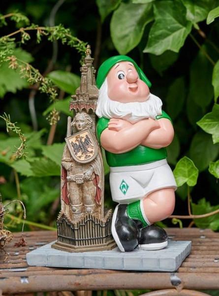 SV Werder Bremen Gartenzwerg Roland Fussball 1. Bundesliga Green