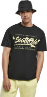 Southpole T-Shirt Short Sleeve Tee Black