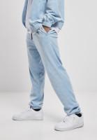 Southpole Trousers AOP Velour Pants Baby Blue