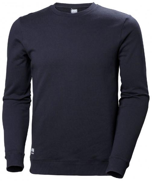 Helly Hansen Hoodie / Sweatshirt 79208 Manchester Sweatershirt 590 Navy