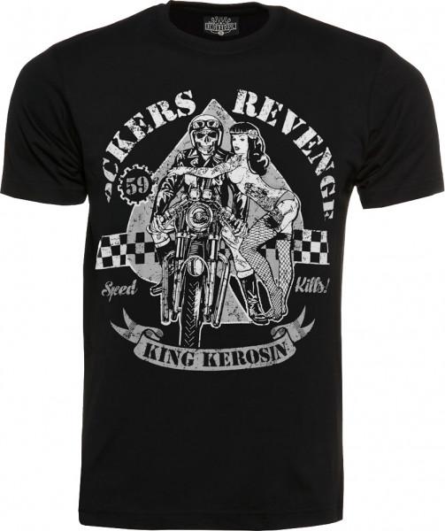 King Kerosin T-Shirt Rockers Revenge Black