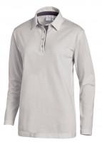 Leiber Polo-Shirt mit Langärmeln 08/2638/2912 Silbergrau/Grau