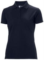 Helly Hansen Damen T-Shirt Manchester Polo Shirt Navy