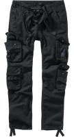 Brandit Men Pure Slim Fit Trousers Black